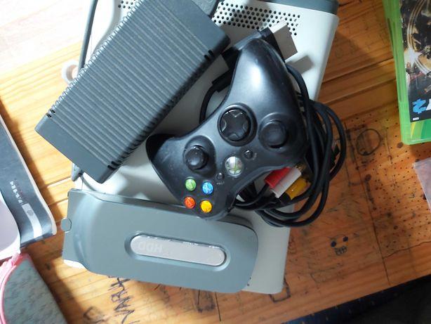 XBox 360 com 2 memórias