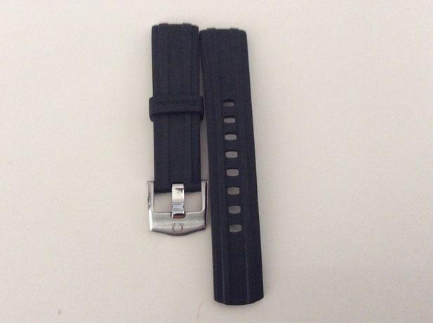 Bracelete em borracha omega Seamaster 20 mm