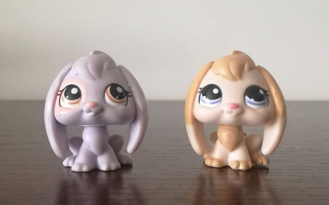 littlest pet shop królik - 2 szt.