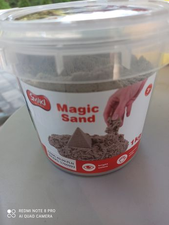 Magic sand - magiczny piasek.