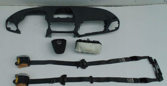Opel Mokka x tablier airbags cintos