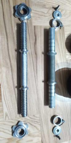 Hantle żeliwne metalowe