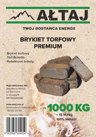 Brykiet Torfowy - Dostawa Grójec i okolice GRATIS