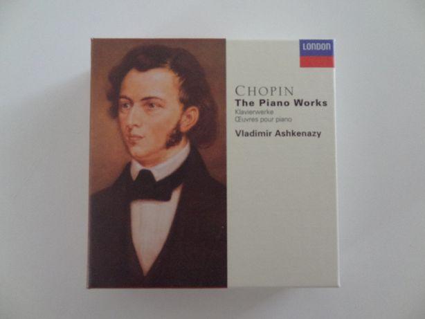 CHOPIN, F. – Vladimir Ashkenazy | Decca – 13 CD's