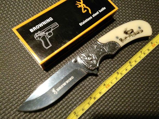 "Nóż ""Browning"" folder EDC-myśliwski"