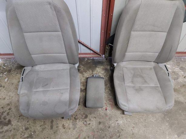 Fotele siedzenia AUDI A6 C6 grzane