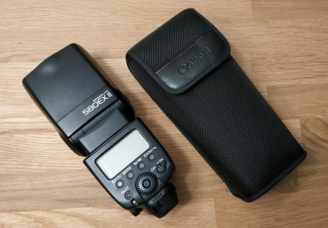 Lampa Canon Speedlite 580EX II, używana, stan bardzo dobry, W-wa