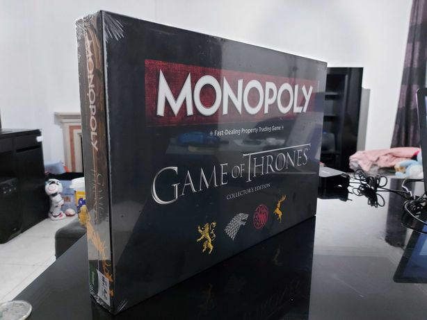 Monopoly Game of Thrones Collector's Edition (Inglês)