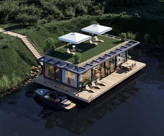 Дом на воде (плавучий дом)