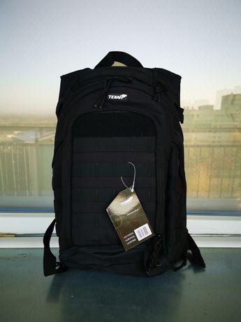 Texar - COBER plecak czarny - nowy 2lata gwarancji