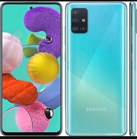 Sprzedam Nowy Zafoliowany Samsung A51 Niebieski 128gb
