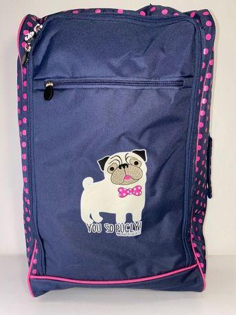 Дорожный чемодан на колесиках от бренда david&goliath