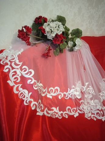 Фата свадебная  весільна в Асортименті