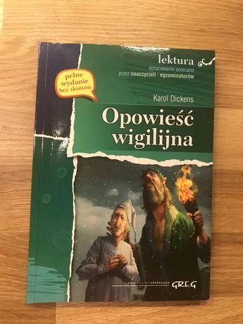 Opowieść Wigilijna = Wejherowo lektura