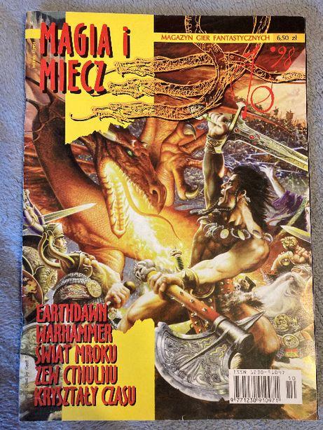 Magia i miecz numer 10 rok 1998