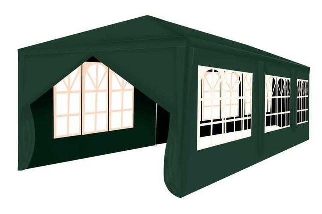 Pawilon ogrodowy 3x9m zielony P12874 namiot