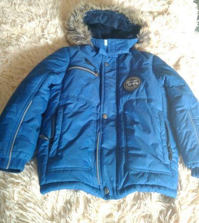 Зимняя куртка lenne на мальчика + комбинезон 116+ 6