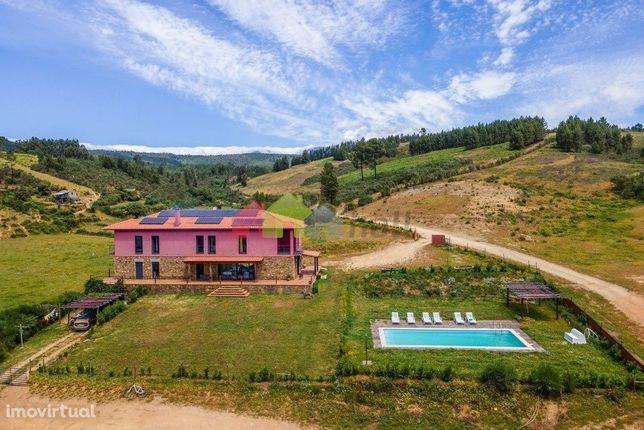 Agroturismo na Serra da Estrela - Moradia com 7 suites e piscina