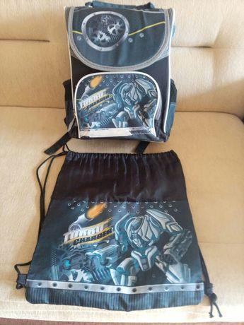 Набор школьный рюкзак и сумка для сменной обуви