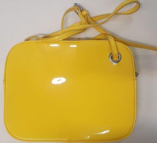 Torebka żółta, mała na ramię, Quiosque