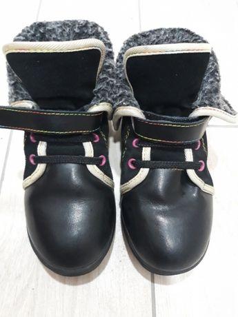 Демисезонные ботинки замш натуральный!