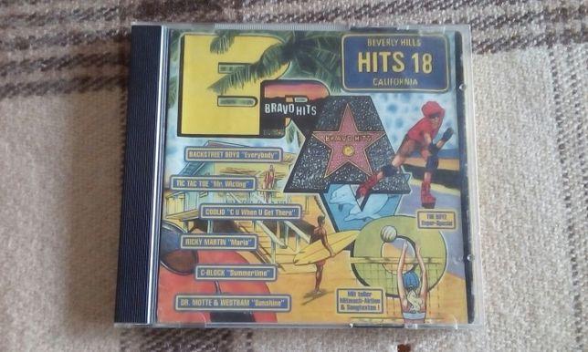 BRAVO HITS 18 (pażdziernik 1997r.) album 2CD