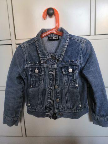 Kurtka jeansowa na 3-5 lat