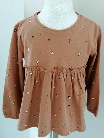 Nowe bluzki Zara rozm 104