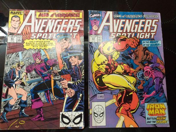 Marvel avengers Spider -Man komiks 5 zeszytów