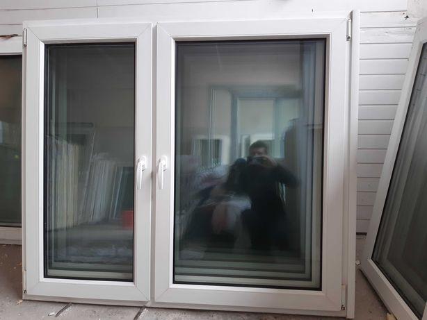 Okna Pcv -sz147x130wys- dwuskrzydłowe - 10szt