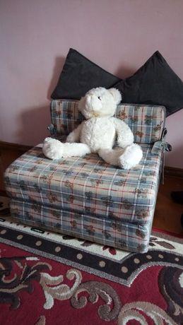 Materac fotel łóżko piankowy mebel
