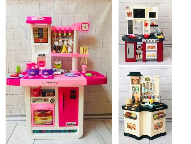 РаЗныЕ Кухня детская от 72см до1м выс с ВОДоЙ, холодильником и звуком