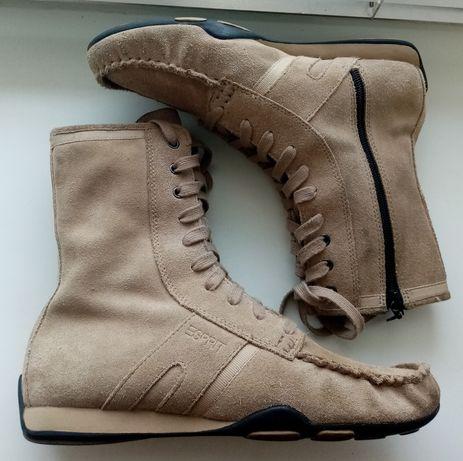 Замшевые ботинки Esprit(оригинал) ecco columbia guess geox
