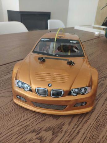 Carro RC Gasolina BMW M3 GTR Revista Salvat (TS4N)