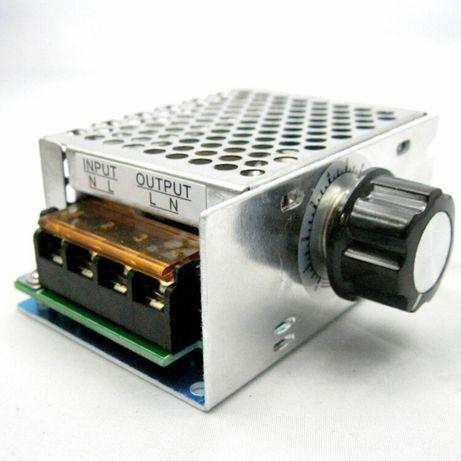 Dimmer potenciómetro 220v 4000w regulador luz, temperatura, velocidade