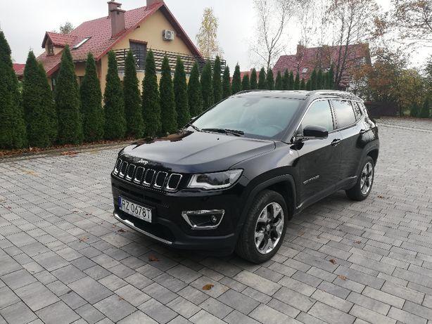 Jeep Compass 1,4T A/T 170KM 4x4 2017 I właś. bezwypadk.