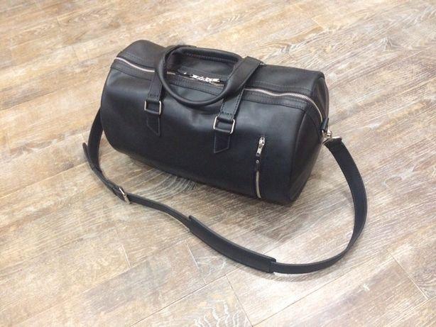 Спортивная, дорожная сумка, рюкзак ручной работы из натуральной кожи