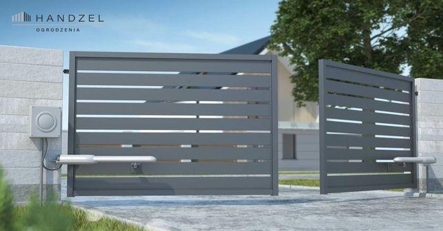 Bramy przesuwne skrzydłowe stal aluminium ogrodzenia PRODUCENT