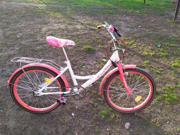 """Велосипед двухколёсный Profi Flower 20"""""""