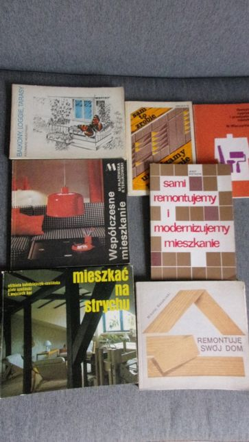 Remont w mieszkaniu / Mieszkanie na strychu/ Balkon - książki