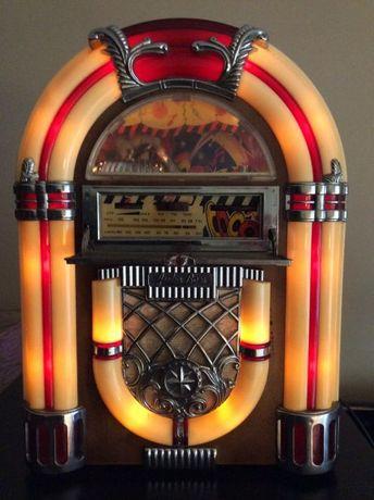 Jukebox rádio/leitor de cassetes