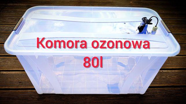 Komora ozonowa 80l odkażanie przedmiotów ozonator dezynfekcja