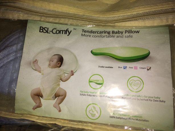 Ортопедична подушка для новонароджених BSL-Comfy Baby Pill (США)