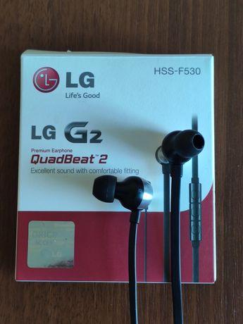 Проводные наушники LG Quadbeat 2