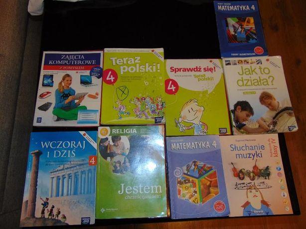 Książki podręczniki klasa 4 IV 9 szt.