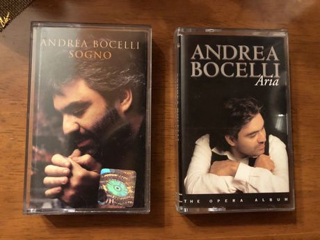 Andrea Bocelli - kasety Sogno & Aria