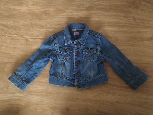 Katana / kurtka jeansowa F&F rozmiar 92