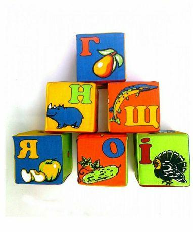 """Набор """"кубики мягкие"""" (Буквы)"""