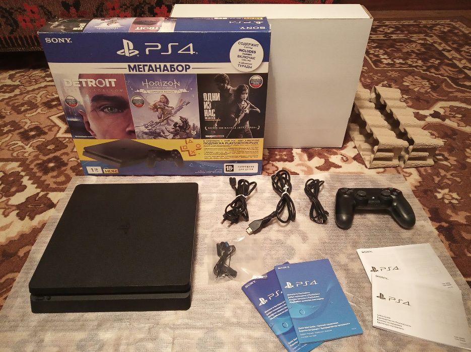 Sony PlayStation PS 4 Slim 1Tb Лутугино - изображение 1