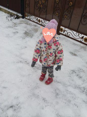 Зимова дитяча курточка